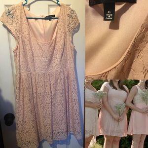 Dresses & Skirts - Lacy Pink Dress